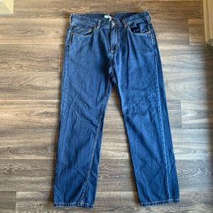 TOMMY BAHAMA Straight Leg Jeans w/ Lyocell 38x32